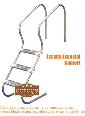 Escada Confort para Piscina